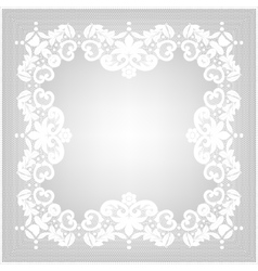 Retro stylish frame vector