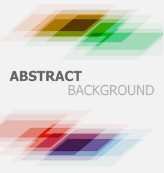 abstract colorful business straight lines vector image vector image