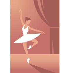Ballerina1 vector image