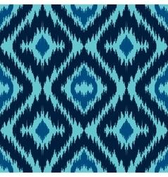 Ethnic blue seamless pattern vector