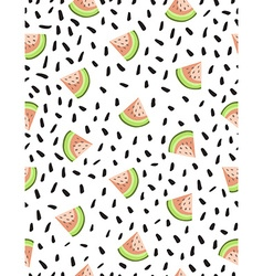 Hand drawn style seamless pattern with vector image vector image