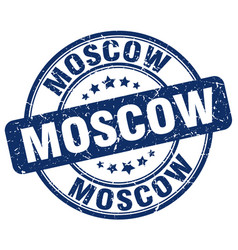 Moscow stamp vector