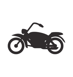 Motorcycle icon transportation design vector