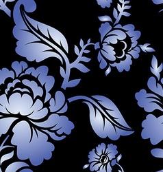 Gzhel Russian national seamless pattern vector image