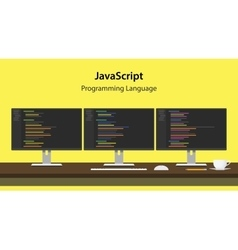 Javascript programming language vector