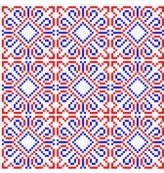 folk ornament vector image