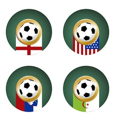 2010 Soccer World Cup South Africa Group C vector image