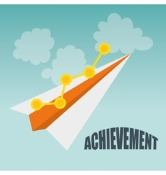Achievement icon design vector