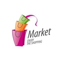 Shopping logo vector
