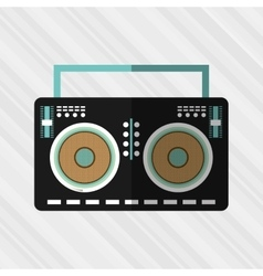 music concept design vector image vector image