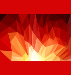 red background design web abstract low poly vector image