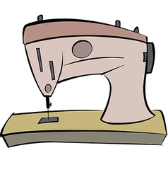 Sewing machine 01 vector