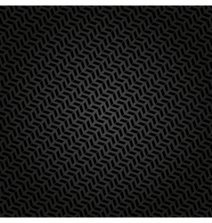 Geometric seamless abstract pattern with black vector