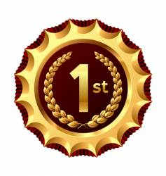 award for winner vector image