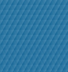 Abstract blue geometric hexagons pattern vector image vector image
