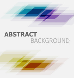 abstract colorful business straight line vector image vector image