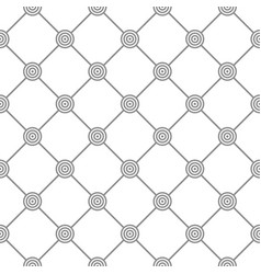 Geometric pattern with circles - seamless vector