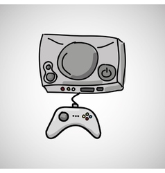 Gamers play icon vector