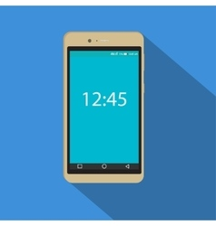 Modern smartphone icon of the vector image