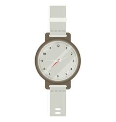 Hand watch in flat design vector