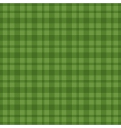 Seamless green vichy pattern vector image