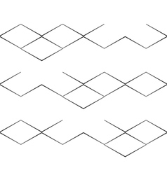 lined checks vector image