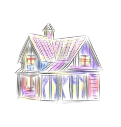 Little house vector