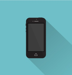 Phone icon minimal style white vector image vector image