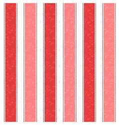 Red Line Pattern Background vector image