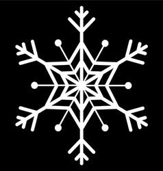 Snow flake vector