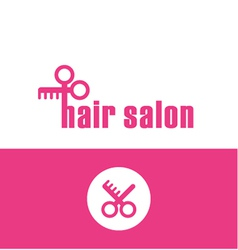 Hair salon vector