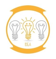 Idea icon design vector