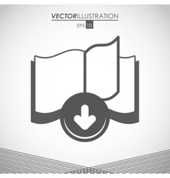 Ebook icon design vector
