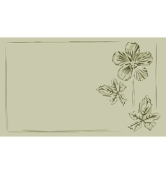 Background frame buttercup vector