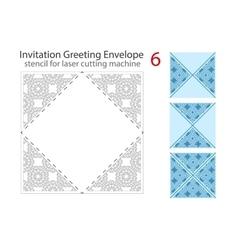 Envelope template for laser cut vector