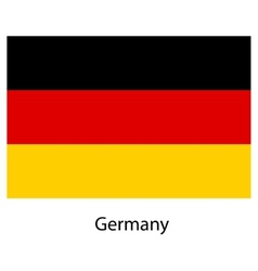 Flag of the country germany vector image