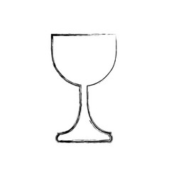 holy grail cup icon vector image vector image