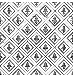 Medieval seamless ornament vector
