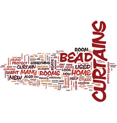 Bead designs text background word cloud concept vector