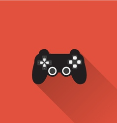 Game controller icon in minimal style vector