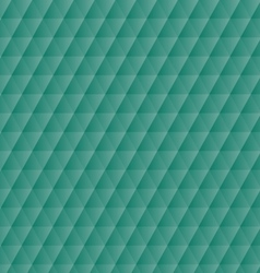 Abstract green geometric hexagons pattern vector image vector image
