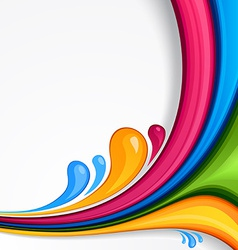 Colorful bsckground vector image