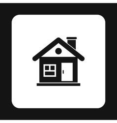 House icon simple style vector