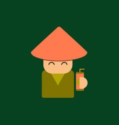 china man of chinese new year vector image