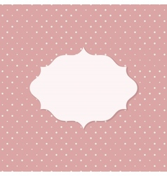 Frame on the paper background vector image