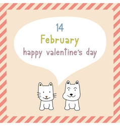 Happy valentine s day card9 vector