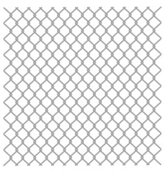 metallic fence vector image