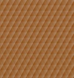 Abstract orange geometric hexagons pattern vector