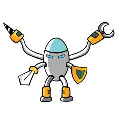 Knight robot vector