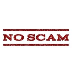 No scam watermark stamp vector